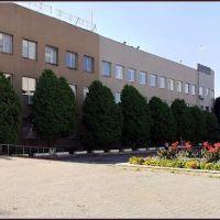Панорамный вид на Ужгородский почтамт, Ужгород
