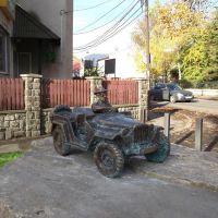 Памятник художнику Гавриилу Глюку, Ужгород