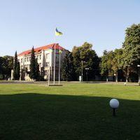Вид с площади Народная, Ужгород