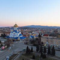 Світанок над Ужгородом/Dawn above Uzhhorod, Ужгород