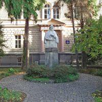 Памятник венгерскому поэту Габору Дойко, Ужгород