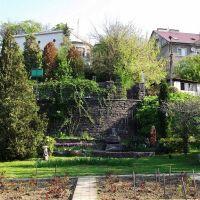 Вид с ботанического сада, Ужгород