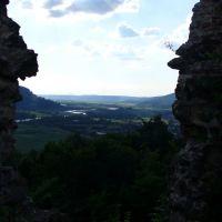 Хуст з замкової гори, Хуст