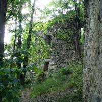 Замкові стіни, Хуст