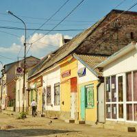 Хуст (Huszt), Ukraine (Kárpátalja) - Huszti utcakép, Хуст
