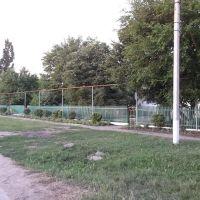 """детсад """"Колосок"""" вид с улицы, Акимовка"""