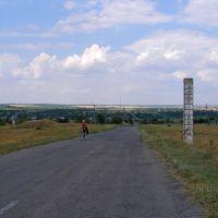 южный выезд из Андреевки, Андреевка