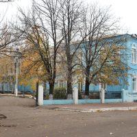 Тыльная сторона здания ревкома., Гуляйполе