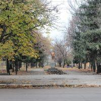 Памятник Михаилу Калинину - всесоюзному старосте., Гуляйполе