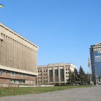 center of the city, Запорожье