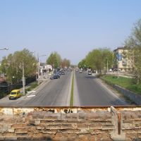 """Street """"Victory"""" in the area of the boulevard """"Central"""", Запорожье"""