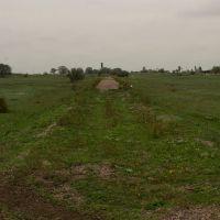 Остатки железной дороги в  Каменскую исправительную колонию №101, Каменное