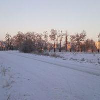 Дорога к нефтебазе, Камыш-Заря