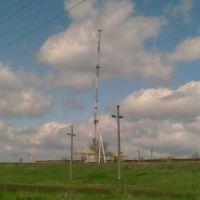 Камыш-Зарянский ретранслятор. Высота ~243 м., Камыш-Заря