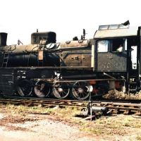 Паровоз Эр767-05, Камыш-Заря, Запорожская обл., 1995 г, Камыш-Заря