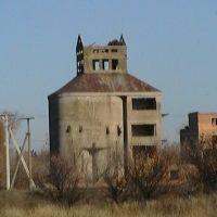 Заброшенное зернохранилище, Камыш-Заря