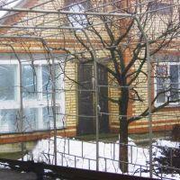 Дом зимой. Январь 2010 г., Куйбышево