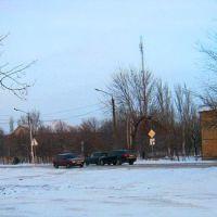 перекресток -светофор, Куйбышево