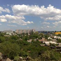 Вид с окна., Мелитополь