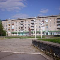Памятник Т.Г. Шевченко., Михайловка