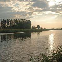 Речка Терса Вечером, Новониколаевка