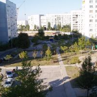 My yard (Kashtanoviy 16), Энергодар