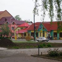 the city centre, Богородчаны