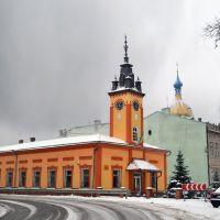 Болехівська ратуша. Bolekhiws Town Hall., Болехов