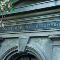 Polski grobowiec na cmentarzu w Bolechowie., Болехов