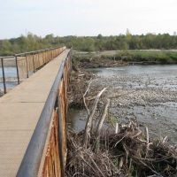 Мост после паводка, Болехов