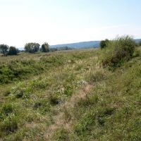 Шкарп. Канал, по якому  з Бистриці подавалася вода на ГЕС, Болшовцы