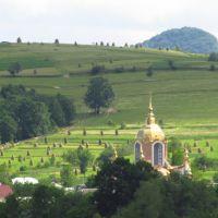 новий купол церкви .., Бытков