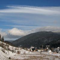 Морозний ранок (frosty morning), Ворохта