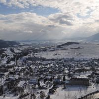 Вид на Вигоду взимку, Выгода