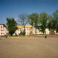 Halicz. Plac w centrum miasta, Галич