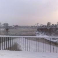 Днестр зимой, Галич