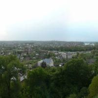 Галич. Панорама с замковой горы, Галич