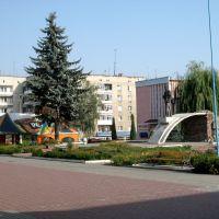 Центр,пам ятник Шевченкові.*, Городенка