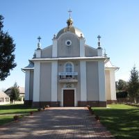 м. Городенка. Церква святого Миколая. (1793р.) / Gorodenka city. Church of St. Nicholas. (1793)., Городенка