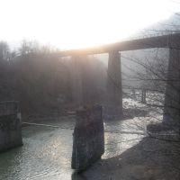 Яремче, жд мост, Прут, Делятин