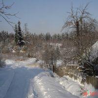 зима в карпатах..., Делятин