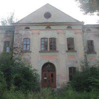 Zabłotów - pozostałości zabudowań mieszkalnych fabryki tytoniu, Заболотов