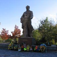 Taras Shevchenko monument in Zabolotiv, Заболотов