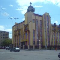 Building of Art institute on Sacharova street, Ивано-Франковск