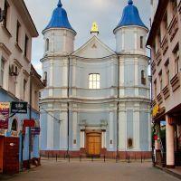 Собор Покрови Святої Богородиці (колишня вірменська церква),  Armenian church, 1762, Ивано-Франковск