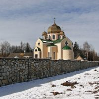 New church Rizdva Hristova was build in 2009, Ивано-Франковск
