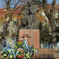 The monument to Taras Shevchenko, Коломыя
