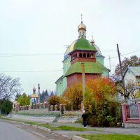 Rohatyn, Ivano-Frankivska oblast, local church ..., Рогатин