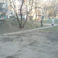 в дворі, Рожнятов