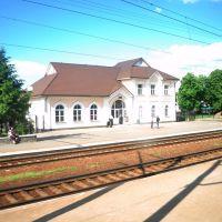 Барышевский вокзал (вид с поезда), Барышевка